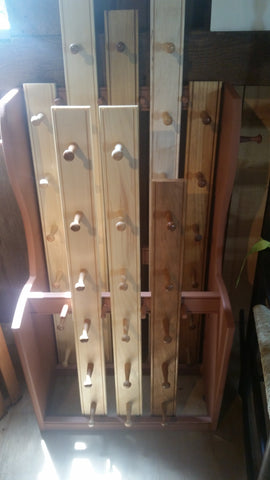 Forward Woodworking Peg Rack