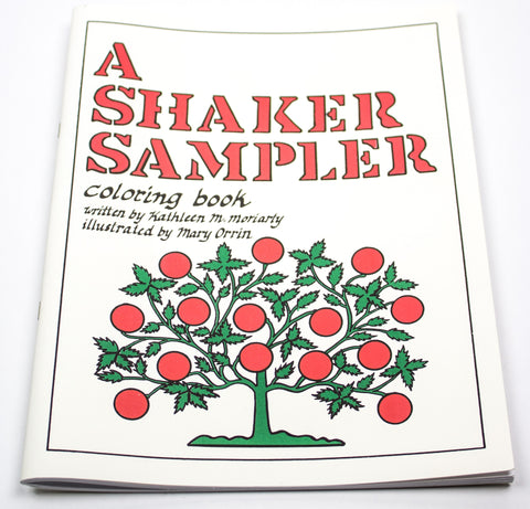 Shaker Sampler Coloring Book