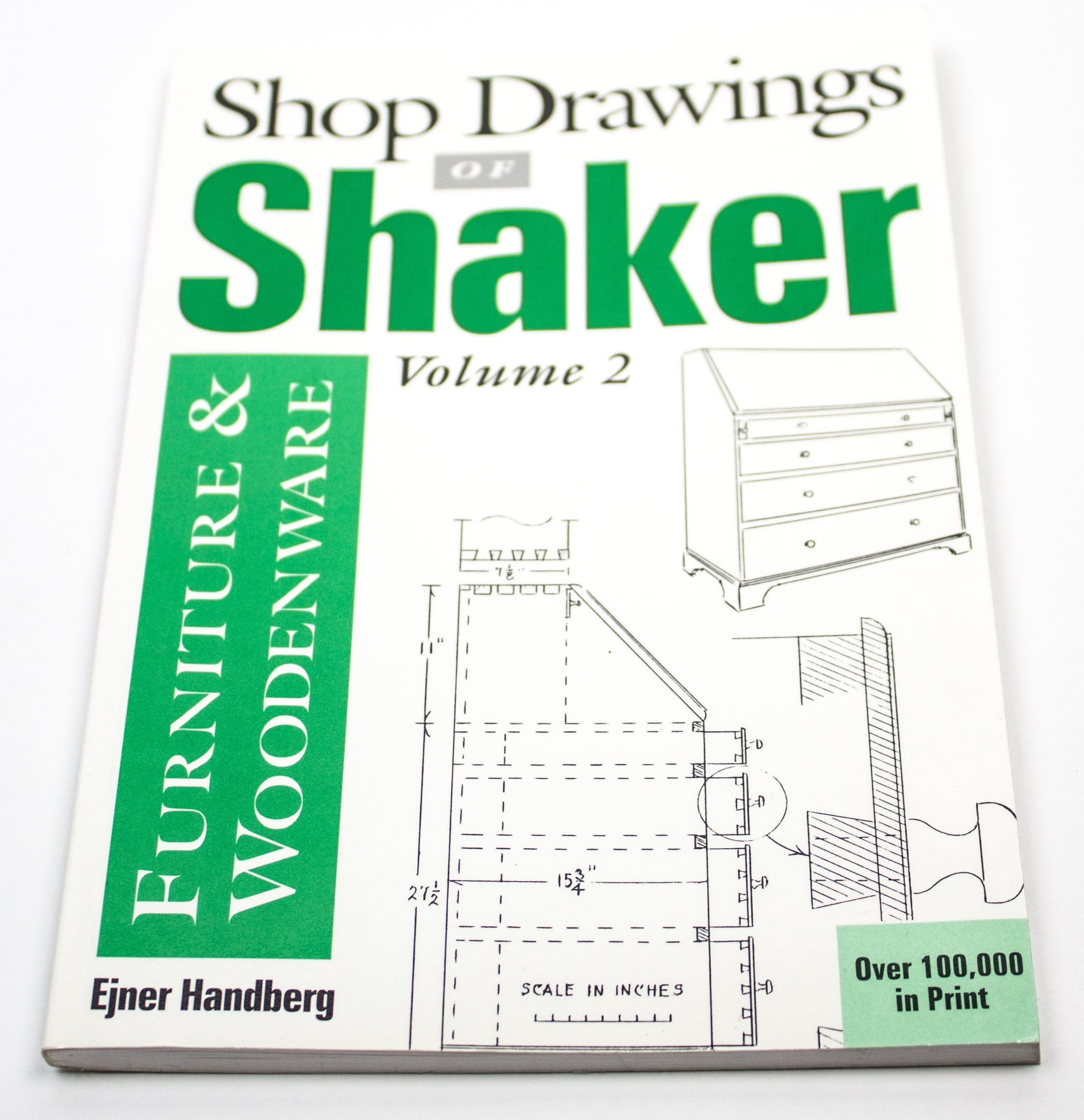 Shop Drawings of Shaker Furniture and Woodenware, Volume 2