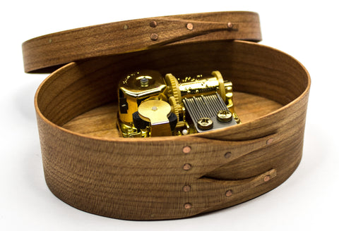 """Simple Gifts"" Music Box"