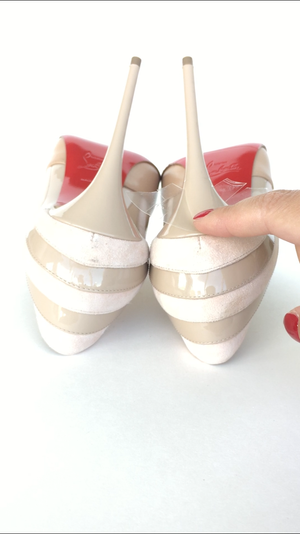 Crystal Clear High Heel Protector