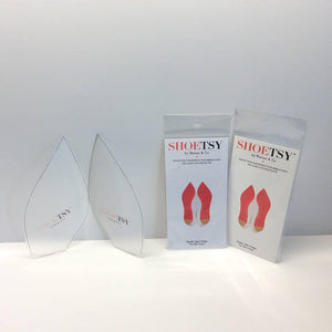 Crystal Clear Red bottom flats protectors louboutin soles painted soles