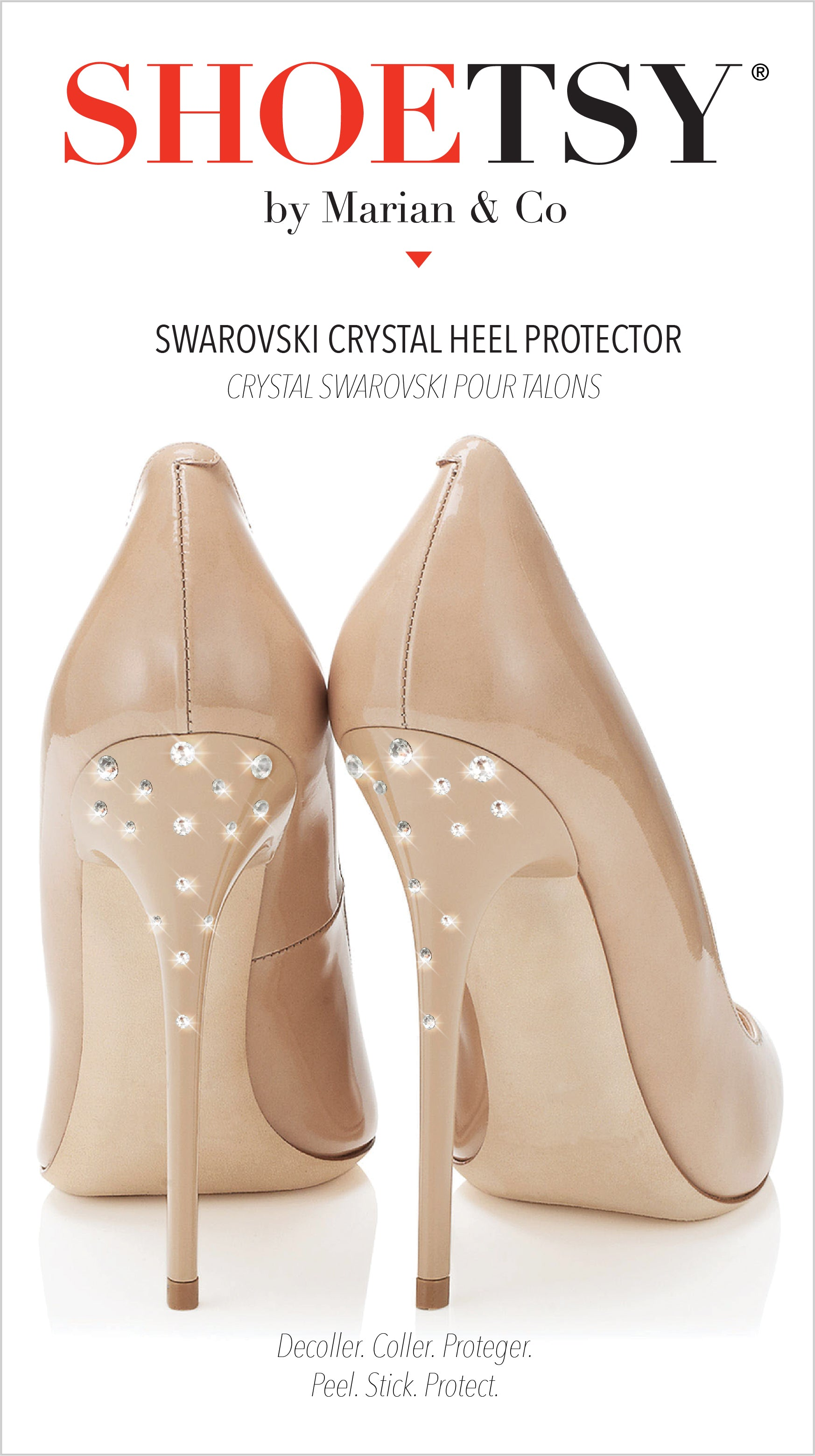 Swarovski Crystal High Heel Jewelry - Shoetsy®