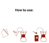 CHEMEX FOLDED SQUARE FILTERS