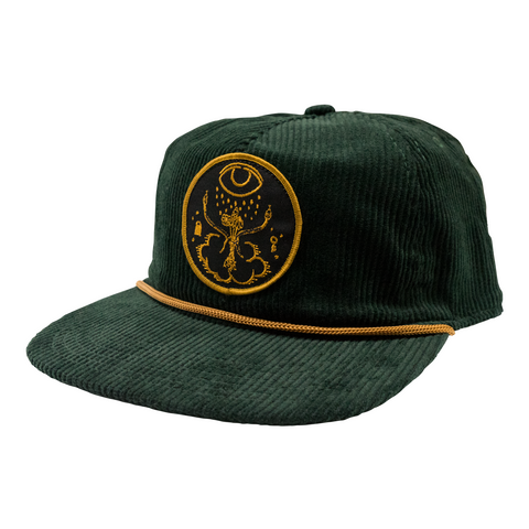 Cover Patch Corduroy Hat