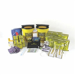 Deluxe Office Bucket Emergency Kit with Toilets (10 Person)