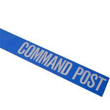 Command Post Triage Tape 1000' (Blue)