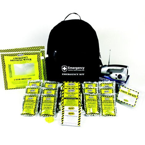 72 Hour Economy Emergency Backpack Kit (2 Person)