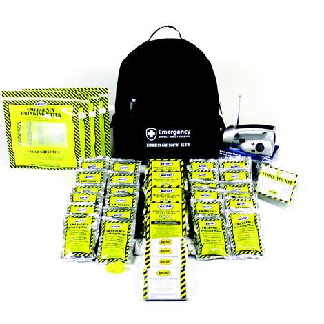 72 Hour Economy Emergency Backpack Kit (4 Person)
