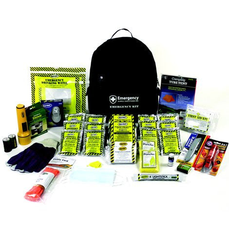 2 Person Deluxe Emergency Backpack Kit