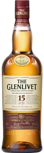 THE GLENLIVET 15 YEARS-SINGLE MALT SCOTCH WHISKY