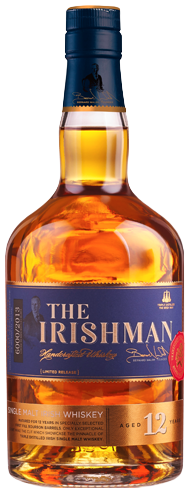 THE IRISHMAN SINGLE MALT  IRISH WHISKEY 12 YEARS