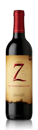 THE SEVEN DEADLY ZINS ZINFANDEL