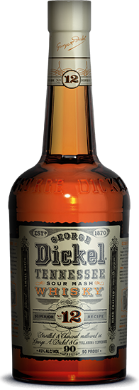 GEORGE DICKEL TENNESSEE  SOUR MASH WHISKEY #12