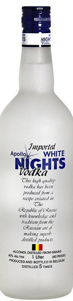APOLLO WHITE NIGHTS  VODKA