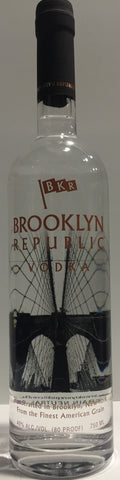 BROOKLYN REPUBLIC   VODKA