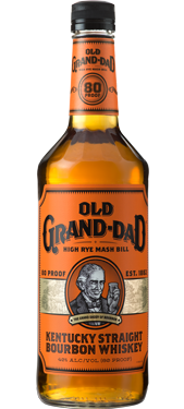 OLD GRAND DAD BOURBON WHISKEY 80 PROOF