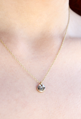 April Birthstone Bottle Necklace