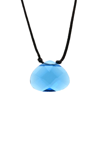 Color Power Necklace - Blue