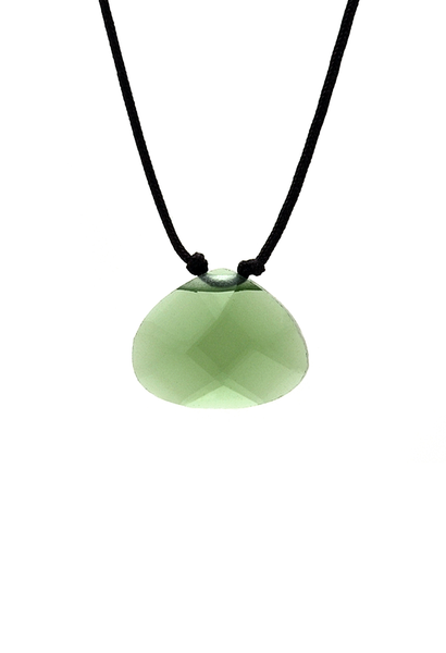 Color Power Necklace - Green