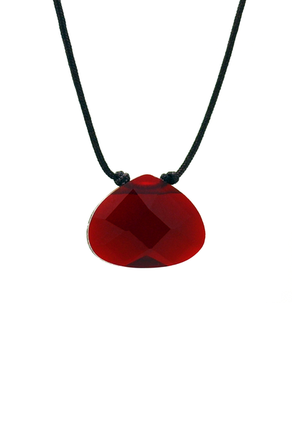 Color Power Necklace - Red