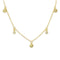 Gold Dangle Necklace - DOTS OF JOY