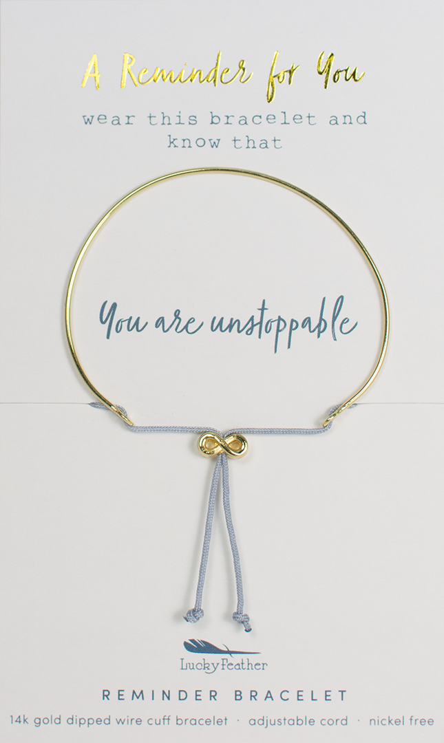 Reminder Bracelet - Gold - UNSTOPPABLE
