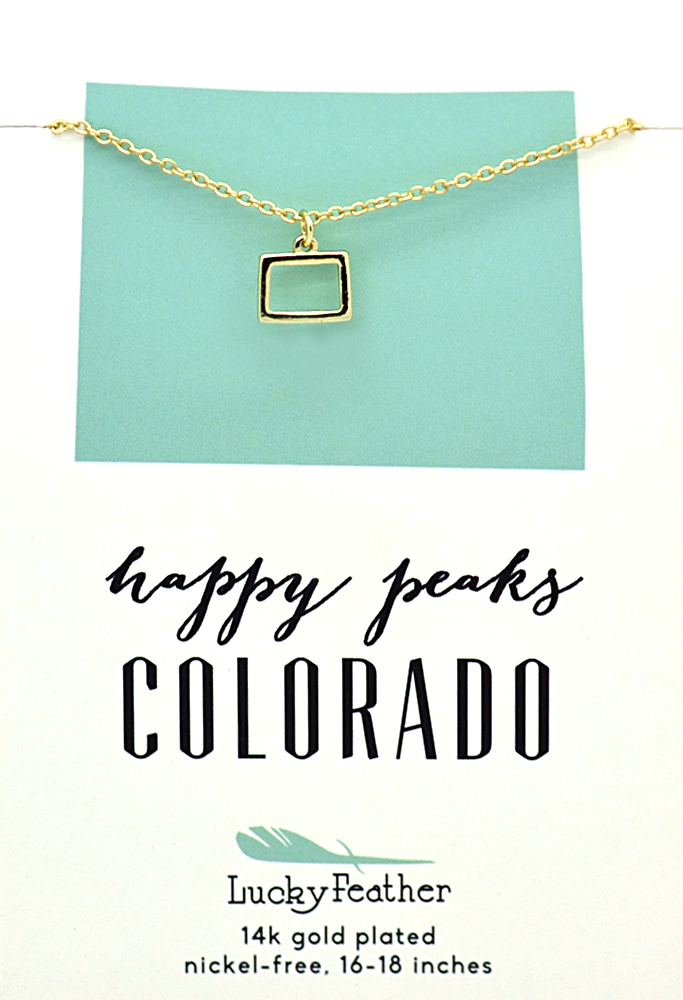 Colorado State Necklace