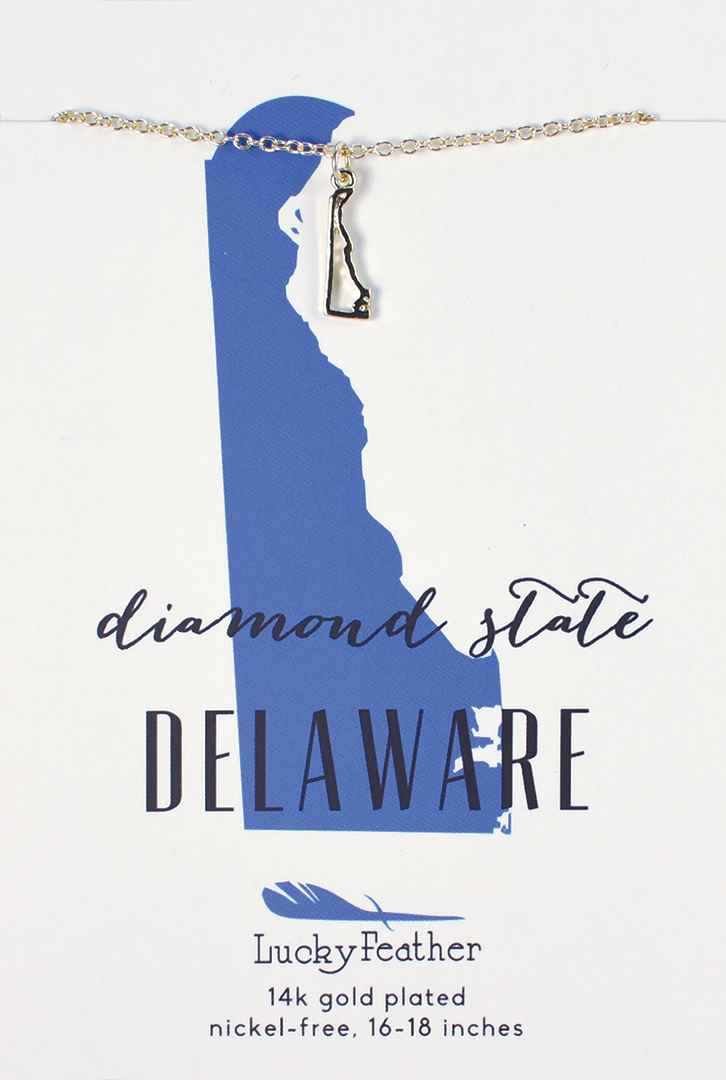 Delaware State Necklace