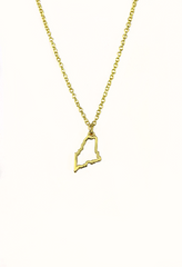 Maine State Necklace