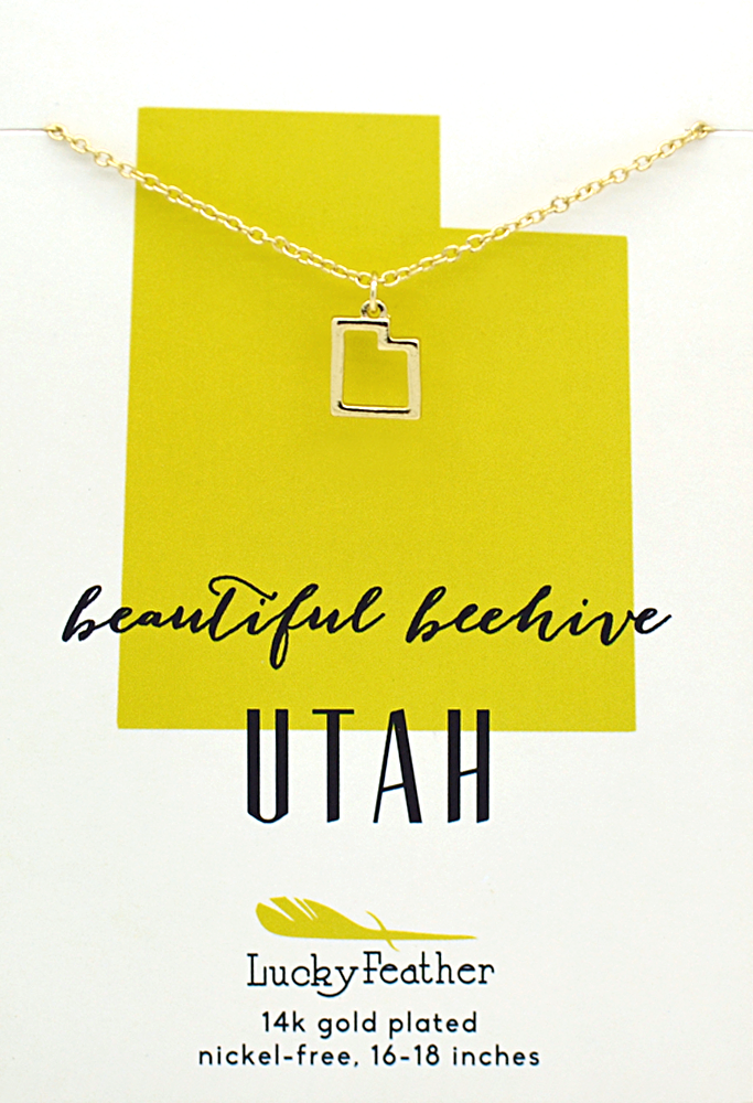 Utah State Necklace