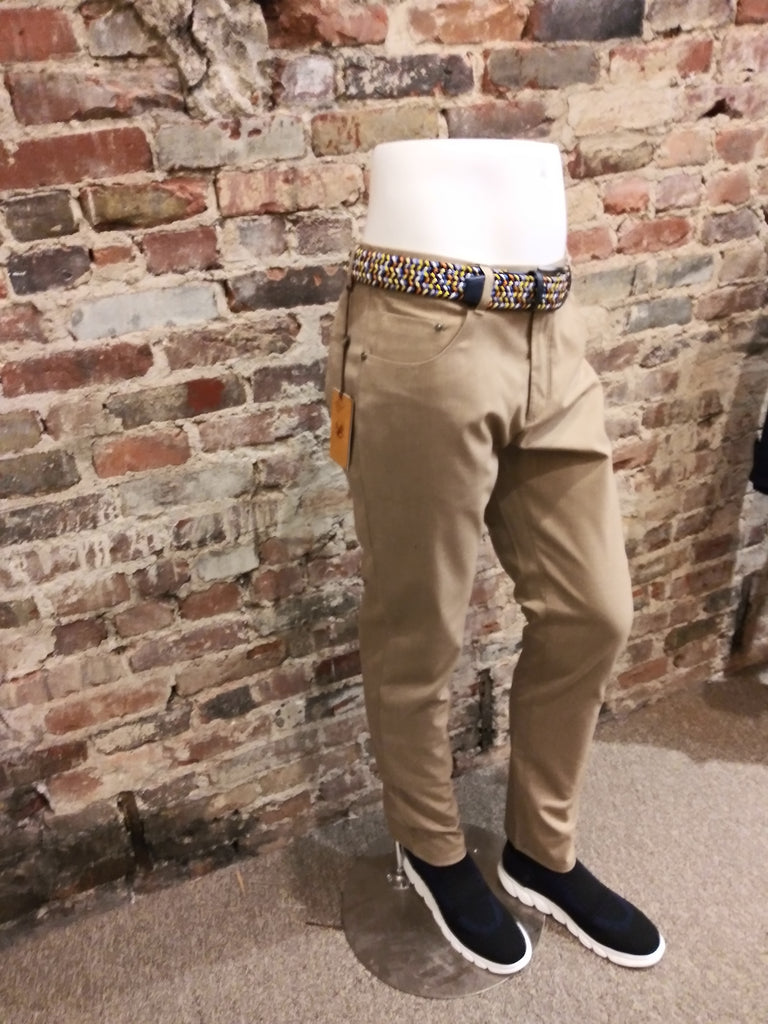ENZO SAND COTTON PANT