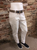 ENZO WHITE COTTON PANT