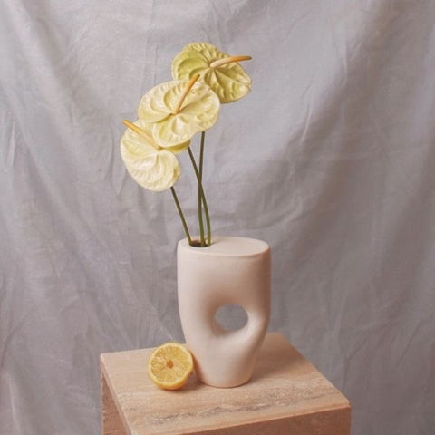Summer School Sculptural Ikebana Matte White