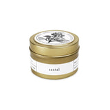 Brooklyn Candle Studio Gold Travel Candle - Santal