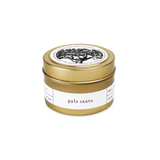 Brooklyn Candle Studio Gold Travel Candle - Palo Santo