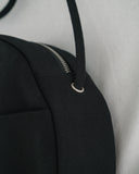 Baggu Medium Circle Canvas Purse Black