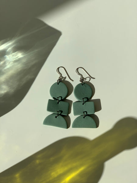 Hey Moon Designs | Cyngus Earrings