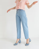 Side Party Mama High Waisted Jean