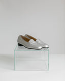 Vintage Selby Silver Loafers