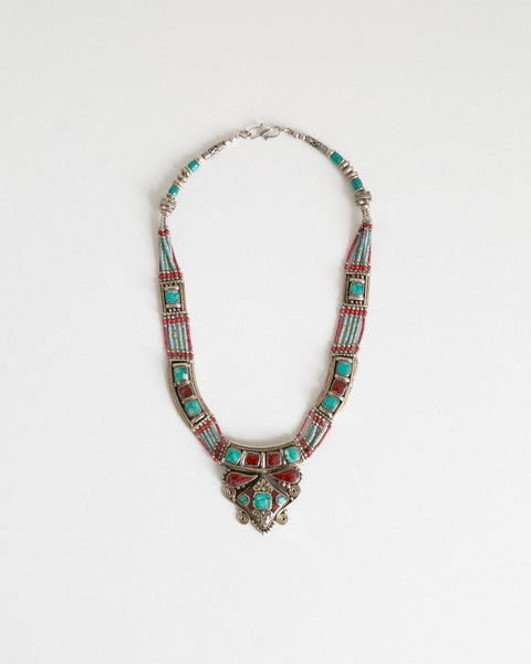 Kaleidos Vintage Turkish Necklace