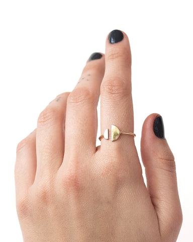 One Six Five Morgan Ring Yellow Gold
