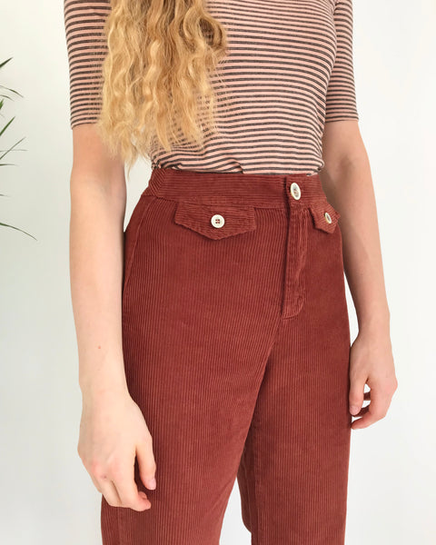 Paloma Wool Lagos Pant in Rust