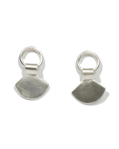 Rachel Gunnard Fan Earrings Sterling Silver
