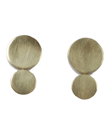 Rachel Gunnard Sunlight Earrings Brass