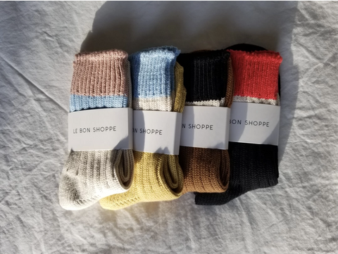 Le Bon Shoppe Camp Socks