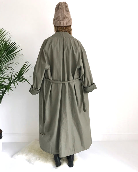 Kaleidos Vintage Polo by Ralph Lauren Trench Coat
