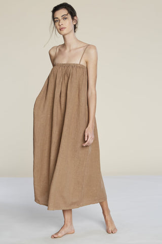 FILOSOFIA | Leah Dress in Wheat