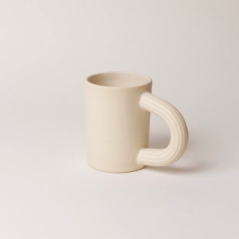 Summer School | Toni Mug in Cream White