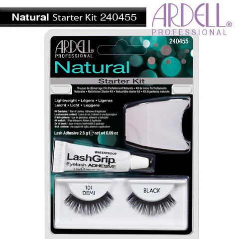 Ardell Professional Natural Starter Kit: 101 demi black